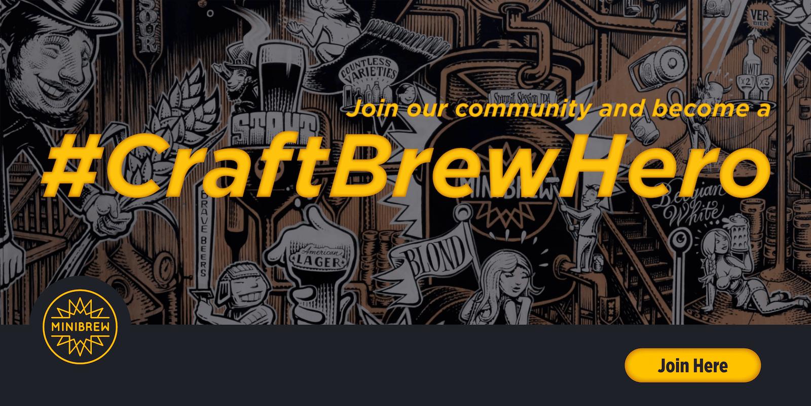 #CraftBrewHero - Crew Brew Hero