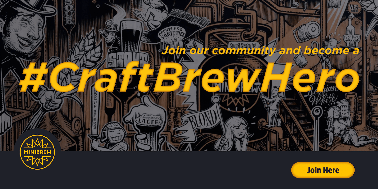 #CraftBrewHero - Crew Brew Hero
